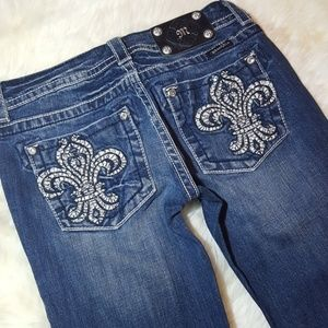 Miss me jeans size 27x34 boot cut mid